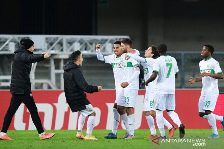 Liga Italia - Sassuolo bertengger di puncak klasemen, Inter tekuk Torino