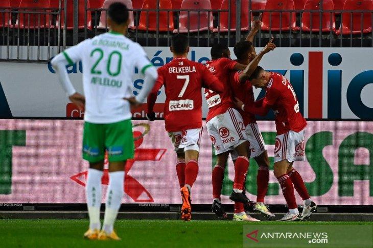 Liga Prancis - Menang 4-1, Brest perburuk rentetan kekalahan Saint-Etienne