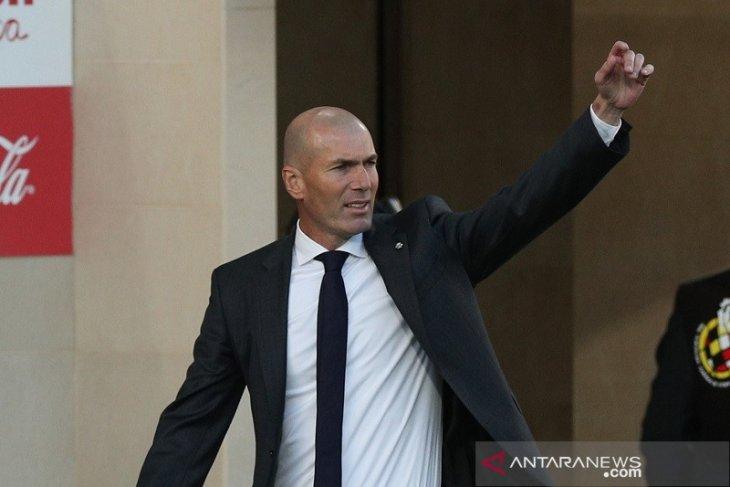 Zidane: Real Madrid seharusnya dapat lebih dari satu poin