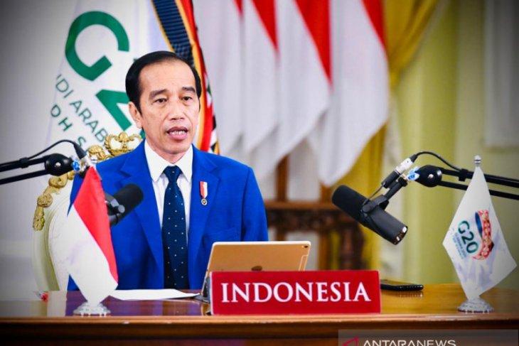 Jokowi: Perlu transformasi besar pascapandemi di KTT G20