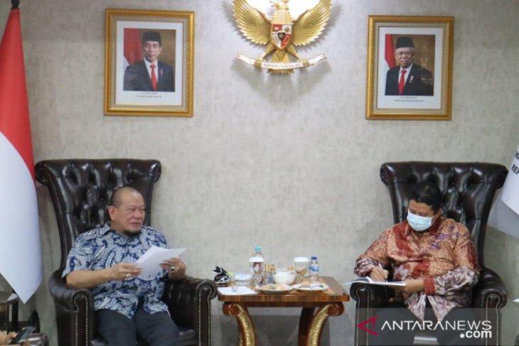 Ketua DPD RI laporkan 1.874 dugaan pelanggaran Pilkada Gorontalo ke DKPP