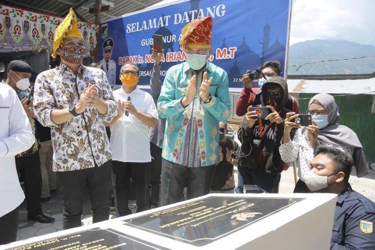 Gubernur resmikan Masjid Nurul Hasanah Aceh di Palu