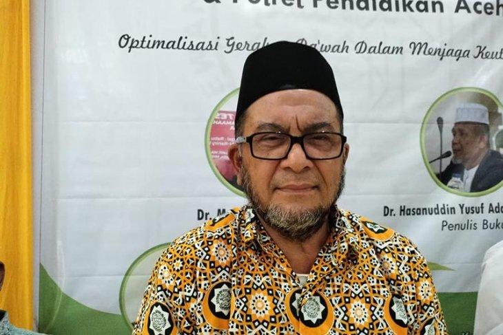 Muhammad AR terpilih sebagai Ketua Umum Dewan Dakwah Aceh