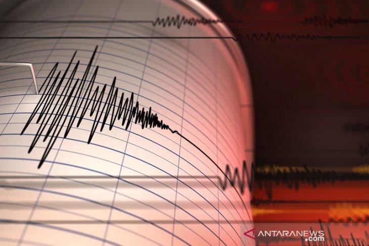 Gempa magnitudo 5,2 terjadi di tenggara Bitung