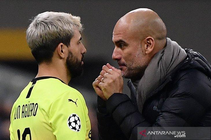 Guardiola harap Aguero segera mengambil keputusan terkait masa depannya di City