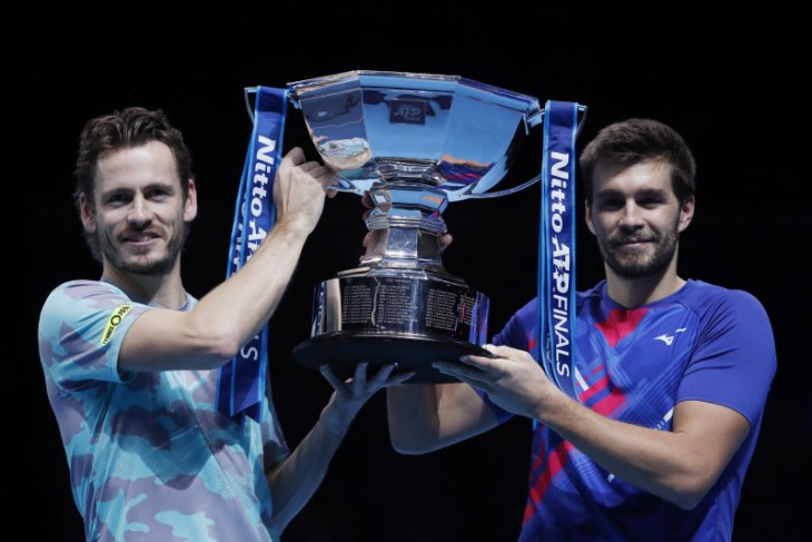 ATP Finals: Koolhof-Mektic juarai ganda putra