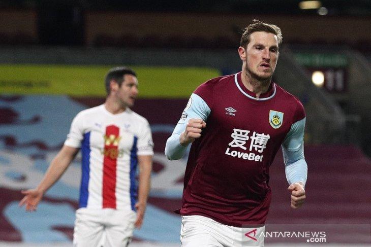 Liga Inggris - Burnley petik kemenangan  atasi Crystal Palace