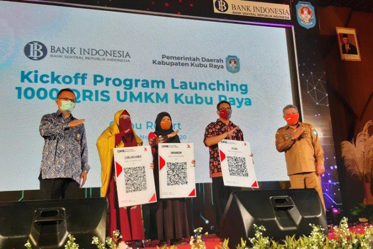 BI Kalbar luncurkan program pasang QRIS untuk 1.000 UMKM di Kabupaten Kubu Raya