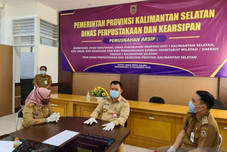 Pjs wali kota pantau penerapan protokol kesehatan di Depo Arsip