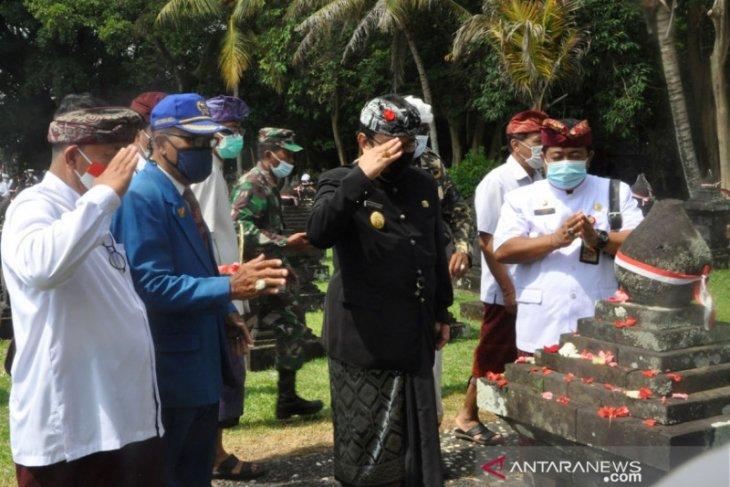 Wagub Bali pimpin Apel Peringatan Puputan Margarana 2020