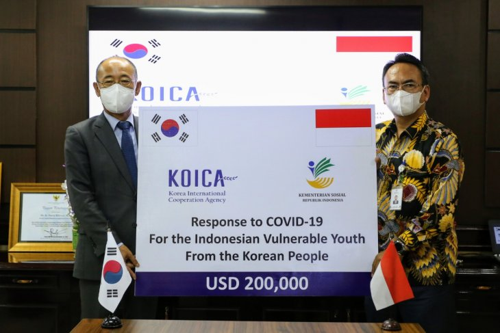 S Korea provides COVID-19 aid for at-risk Indonesian youth