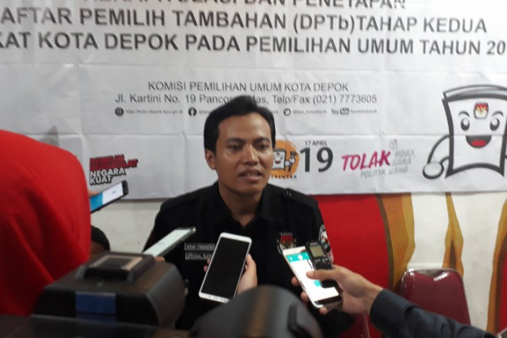 KPU Depok: Warga tidak terdaftar di DPT masih bisa mencoblos gunakan KTP