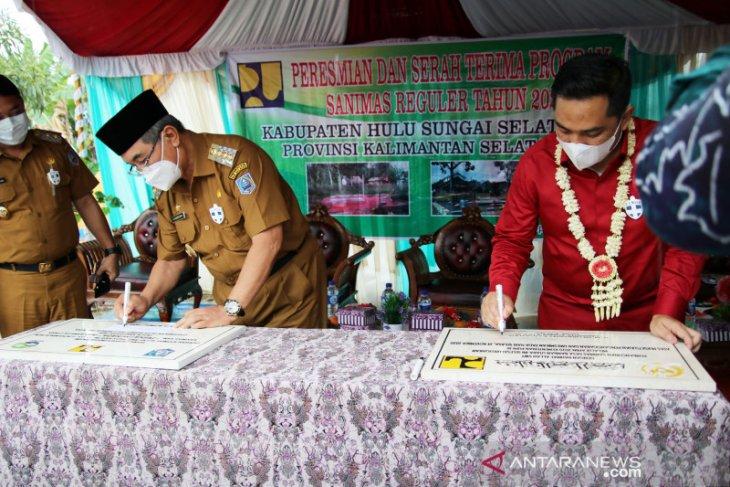 SANIMAS Desa Bamban Utara, Angkinang diterima dan diserahterimakah