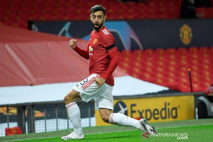 Solksjaer berharap skuat Manchester United belajar mentalitas dari Bruno Fernandes