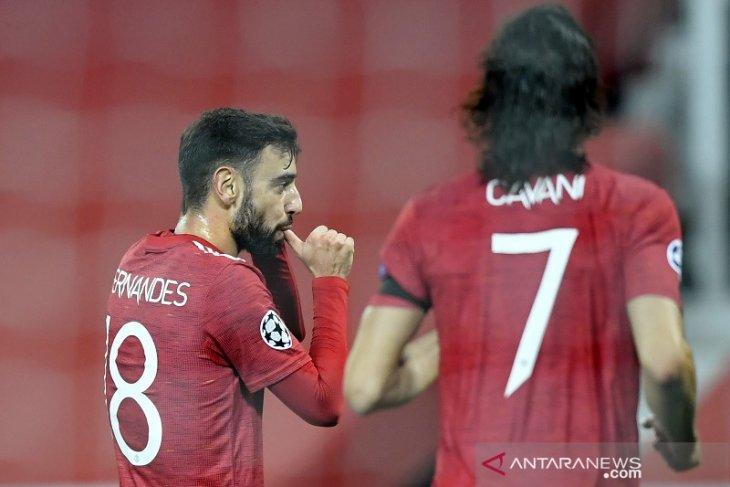 Liga Champions: MU tuntaskan revans dengan kalahkan Basaksehir 4-1