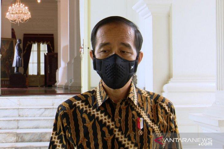 Presiden Jokowi tegaskan pemerintah hormati proses hukum di KPK