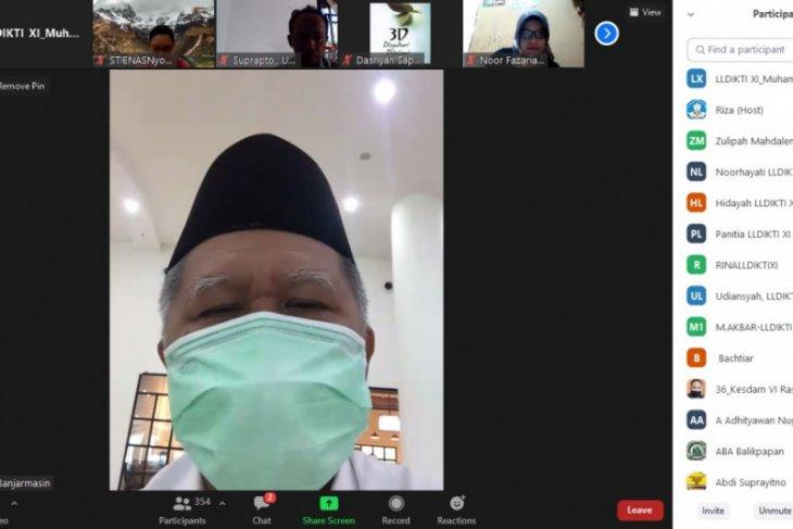 LLDIKTI Kalimantan sosialisasi dosen berkegiatan Tri Dharma di luar kampus