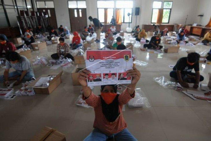 Pelipatan surat suara Pilkada Klaten