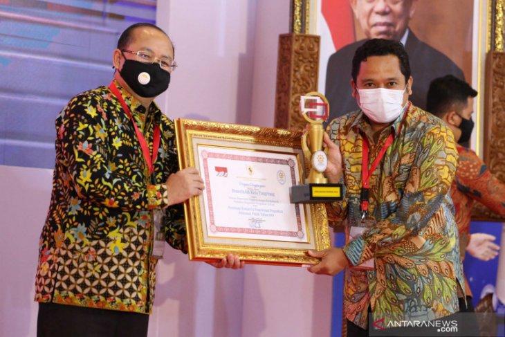 Pemkot Raih Penghargaan Pengelolaan Pengaduan Pelayanan Publik 2020