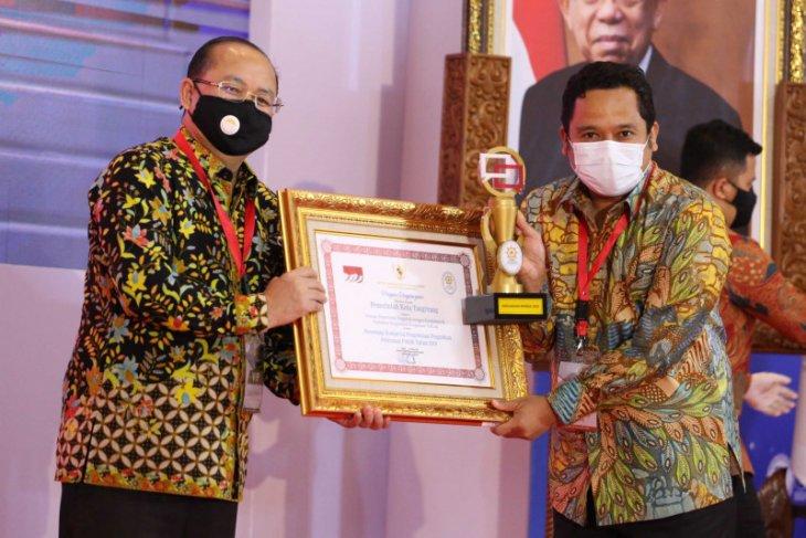 Pemkot Tangerang dapat Penghargaan Pengelolaan Pengaduan Pelayanan 2020