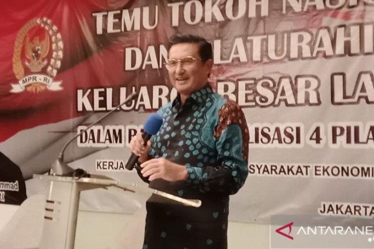 Fadel Muhammad usul pembuatan Terusan Khatulistiwa di Silatnas Gorontalo