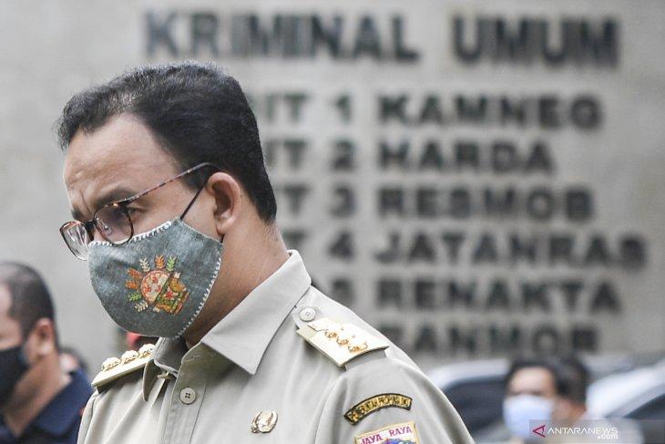 Gubernur DKI Jakarta Anies Baswedan  positif terpapar COVID-19