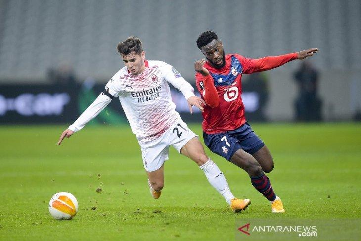 AC Milan ditahan imbang oleh Lille
