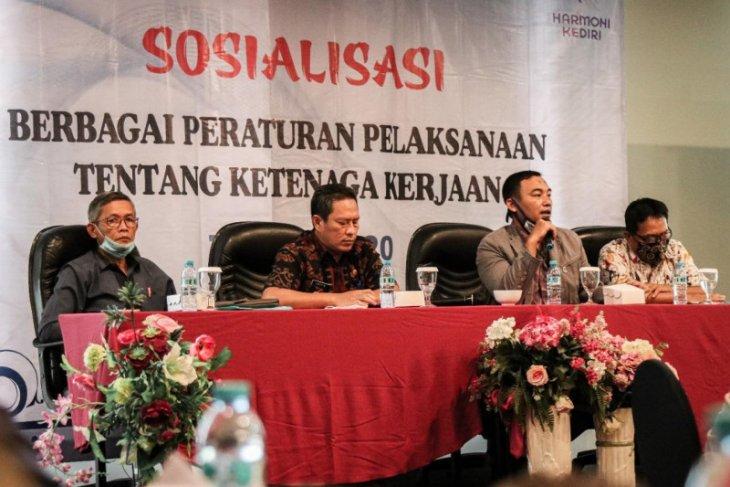 Pemkot Kediri sosialisasikan kenaikan UMK 2021 kepada pengusaha