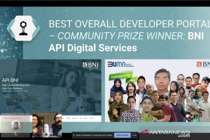 BNI raih penghargaan pengembang API terbaik