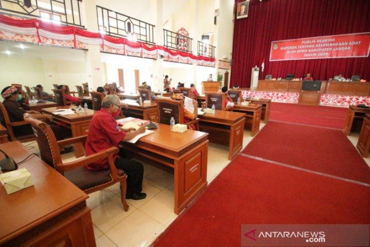 Kabupaten Landak bahas Raperda Kelembagaan Adat