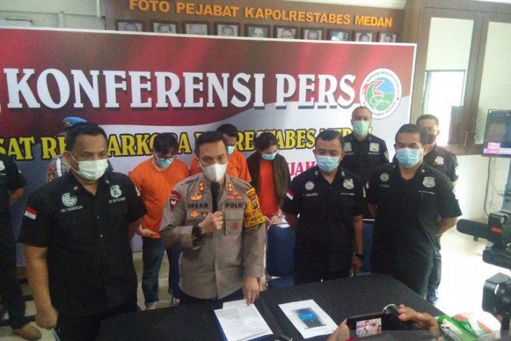 Polrestabes Medan tangkap anggota DPRD Labura terlibat narkoba