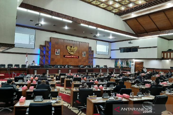 DPRA: Partai pengusung belum ajukan calon wakil Gubernur Aceh