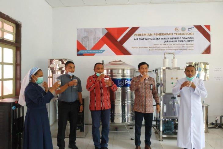 BPPT resmikan teknologi arsinum SWRO di Saumlaki
