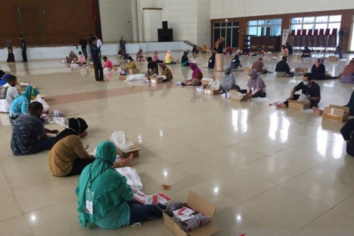 KPU Bangka Tengah lipat 132.582 surat suara Pilkada Serentak  2020
