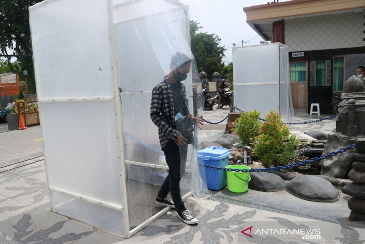 Penerapan protokol kesehatan di Masjid Jami Kota Mojokerto