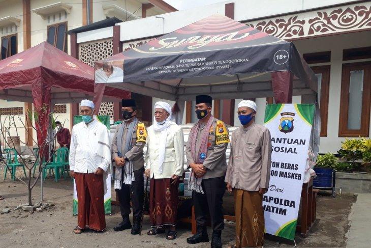 Kunjungi Kediri, Kapolda baru minta dukungan ulama pimpin Jatim