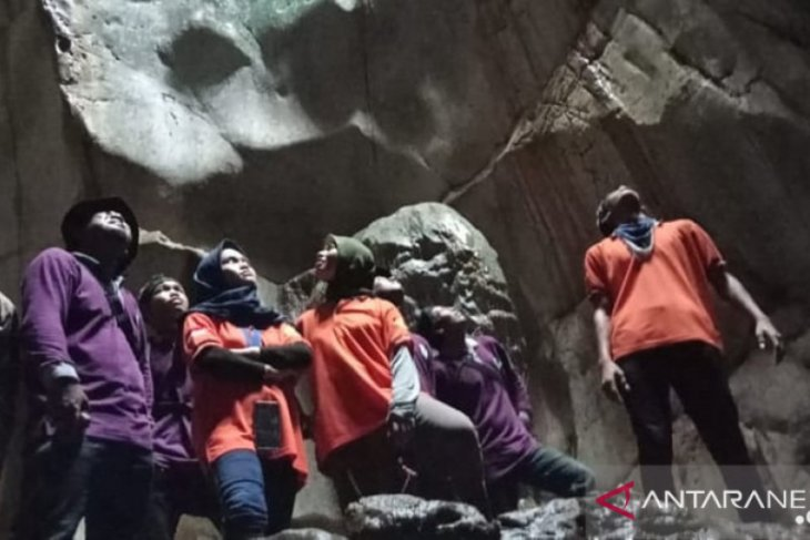 Tanah Laut plants trees in the Marble Cave area