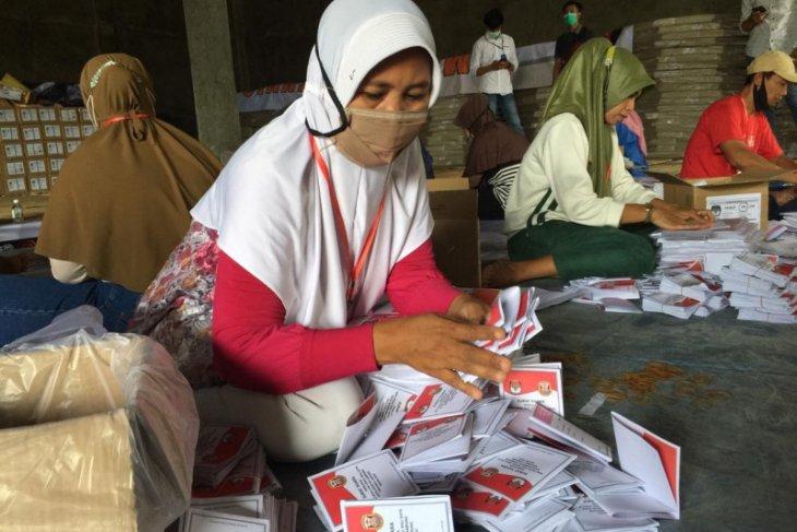 Surat suara Pilkada Melawi kurang 625 lembar