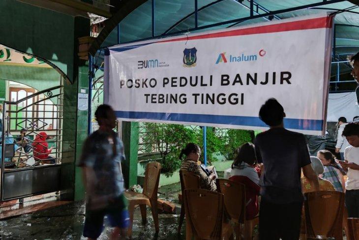 INALUM salurkan bantuan untuk korban banjir di Tebing Tinggi