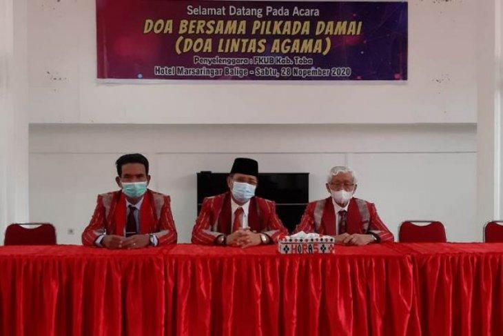 FKUB Toba gelar doa lintas agama pilkada damai