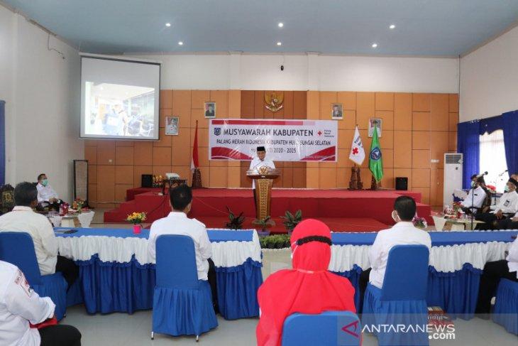 Bupati HSS buka musyawarah kabupaten PMI tahun 2020