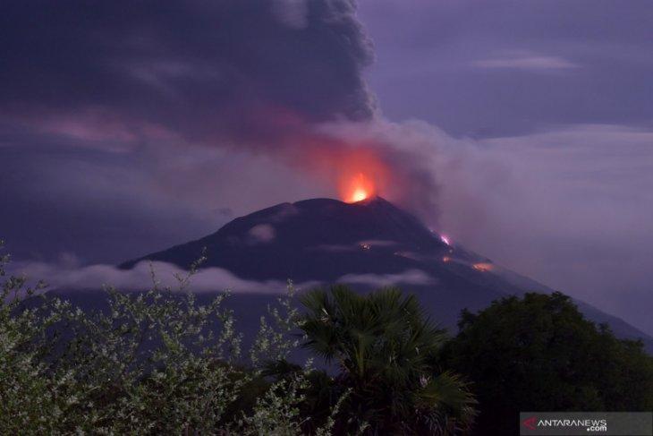 Gunung Api IIi Lewotolok kembali erupsi