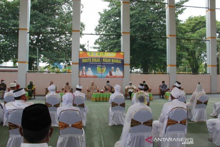 55 pasangan ikuti itsbat nikah hari jadi ke 55 Kabupaten Tapin