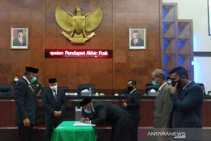 DPRA sepakat APBA 2021 sebesar Rp 16,9 triliun