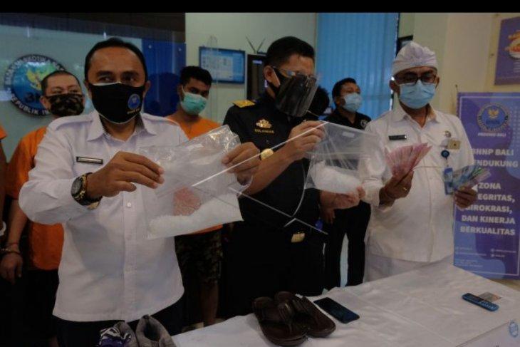Pengungkapan jaringan narkoba di Bali