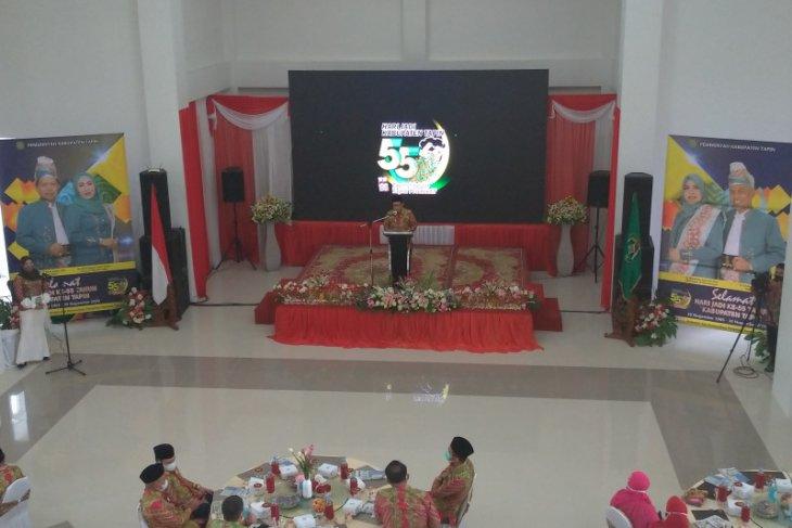 Peiringan Hari Jadi ke 55 Tapin disiarkan secara virtual