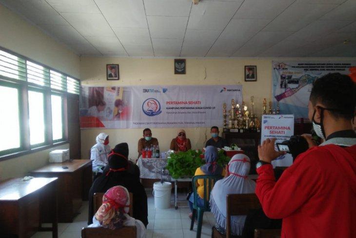 Program Pertamina sehati di Ternate beri PMT-P