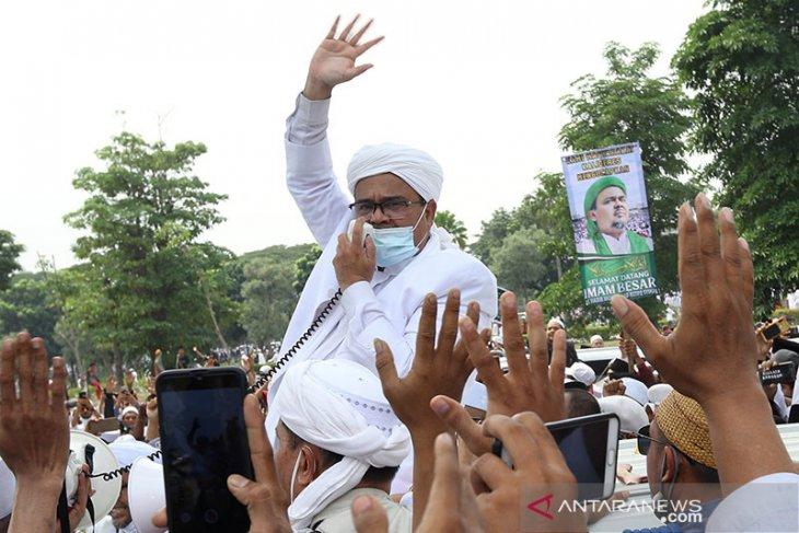 FPI bantah hasil tes usap Habib Rizieq