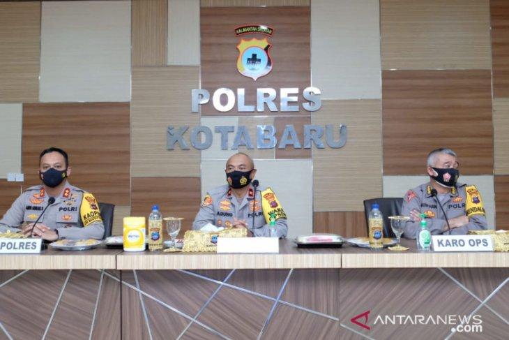 Wakapolda Kalsel cek kesiapan pengamanan pilkada di Kotabaru