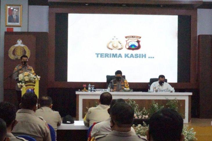 Kapolda Jatim ingatkan jajarannya jaga netralitas saat pilkada